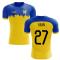 2019-2020 Everton Away Concept Football Shirt (Kean 27)