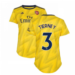 2019-2020 Arsenal Adidas Womens Away Shirt (Tierney 3)