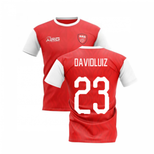 2020-2021 North London Home Concept Football Shirt (David Luiz 23)