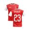 2019-2020 North London Home Concept Football Shirt (David Luiz 23)