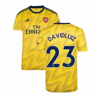 2019-2020 Arsenal Adidas Away Football Shirt (Kids) (David Luiz 23)