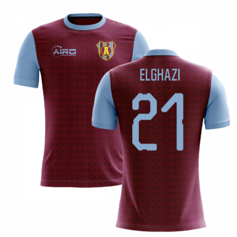 2020-2021 Villa Home Concept Football Shirt (El Ghazi 21)