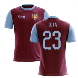 2019-2020 Villa Home Concept Football Shirt (Jota 23)