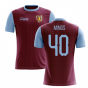 2020-2021 Villa Home Concept Football Shirt (Mings 40)