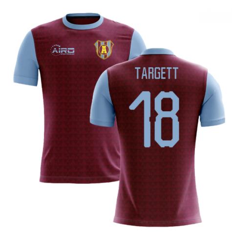 2020-2021 Villa Home Concept Football Shirt (Targett 18)
