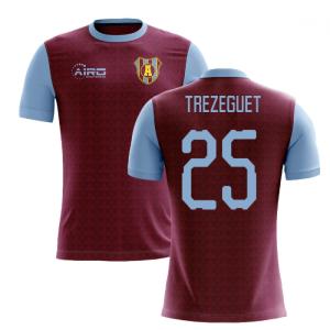 2020-2021 Villa Home Concept Football Shirt (Trezeguet 25)