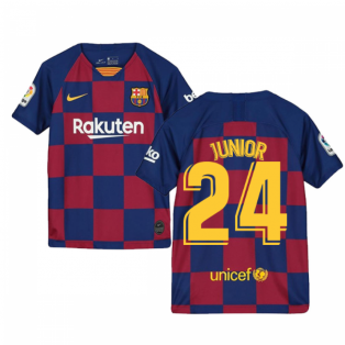 2019-2020 Barcelona Home Nike Shirt (Kids) (Junior 24)