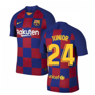 2019-2020 Barcelona Home Vapor Match Nike Shirt (Kids) (Junior 24)