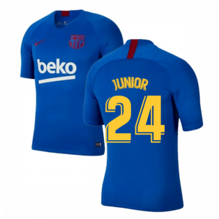 2019-2020 Barcelona Nike Training Shirt (Blue) - Kids (Junior 24)