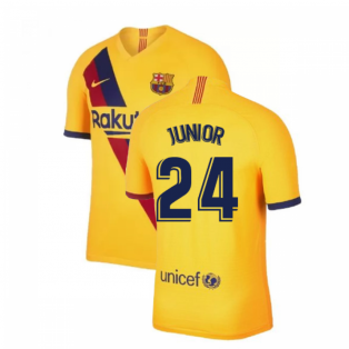 2019-2020 Barcelona Away Nike Football Shirt (Junior 24)