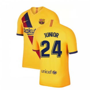 2019-2020 Barcelona Away Nike Shirt (Kids) (Junior 24)