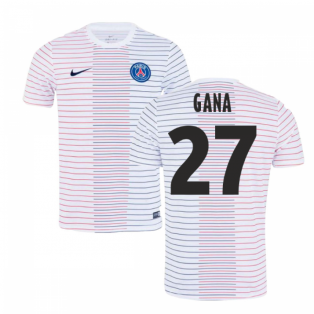 2019-2020 PSG Nike Pre-Match Training Shirt (White) - Kids (Gana 27)