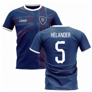 2019-2020 Glasgow Home Concept Football Shirt (Helander 5)