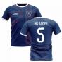 2019-2020 Glasgow Home Concept Football Shirt (Helander 5)