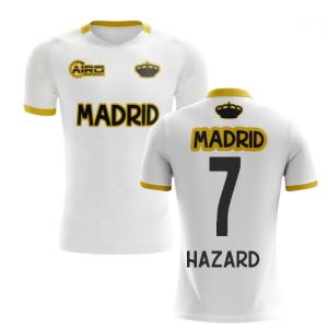 2020-2021 Madrid Concept Training Shirt (White) (Hazard 7)