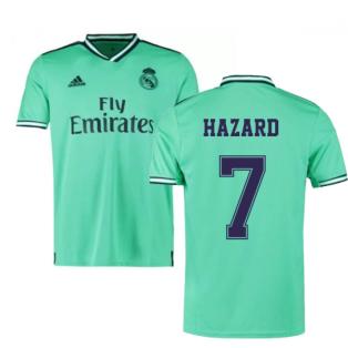 2019-2020 Real Madrid Adidas Third Football Shirt (Hazard 7)
