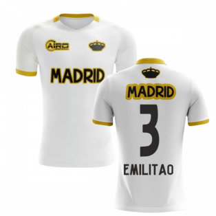 2019-2020 Madrid Concept Training Shirt (White) (E Militao 3)