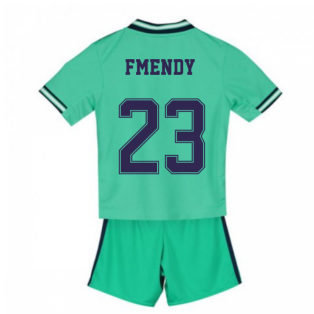 2019-2020 Real Madrid Adidas Third Mini Kit (F Mendy 23)