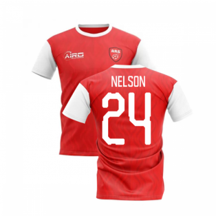 2019-2020 North London Home Concept Football Shirt (Nelson 24)