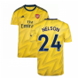 2019-2020 Arsenal Adidas Away Football Shirt (Nelson 24)