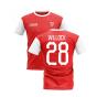 2020-2021 North London Home Concept Football Shirt (Willock 28)