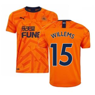 2019-2020 Newcastle Third Football Shirt (Willems 15)