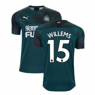 2019-2020 Newcastle Away Football Shirt (Willems 15)