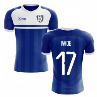 2020-2021 Everton Home Concept Football Shirt (Iwobi 17)