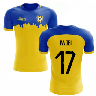 2020-2021 Everton Away Concept Football Shirt (Iwobi 17)