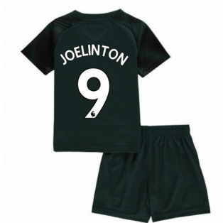 2019-2020 Newcastle Away Mini Kit (Joelinton 9)