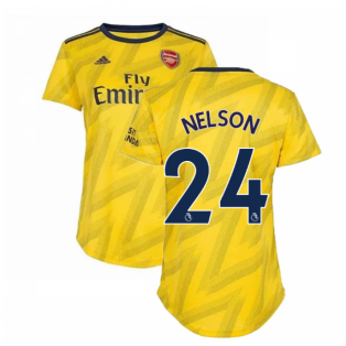 2019-2020 Arsenal Adidas Womens Away Shirt (Nelson 24)