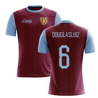 2019-2020 Villa Home Concept Football Shirt (Douglas Luiz 6)