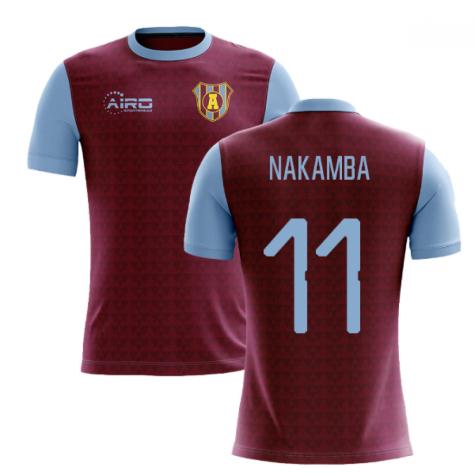 2020-2021 Villa Home Concept Football Shirt (Nakamba 11)