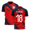 2019-2020 Lille Home Concept Football Shirt (R Sanches 18)