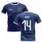 2019-2020 Glasgow Home Concept Football Shirt (Kent 14)