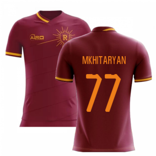 2020-2021 Roma Home Concept Football Shirt (Mkhitaryan 77)