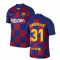 2019-2020 Barcelona Home Vapor Match Nike Shirt (Kids) (Ansu Fati 31)