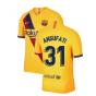 2019-2020 Barcelona Away Nike Football Shirt (Ansu Fati 31)