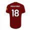 2019-2020 Liverpool Home Football Shirt (Minamino 18)