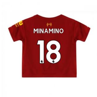 2019-2020 Liverpool Home Little Boys Mini Kit (Minamino 18)
