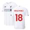 2019-2020 Liverpool Away Football Shirt (Minamino 18)