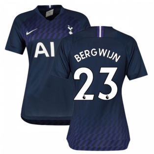 2019-2020 Tottenham Away Nike Ladies Shirt (Bergwijn 23)