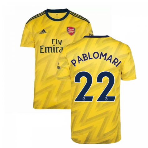 2019-2020 Arsenal Adidas Away Football Shirt (Pablo Mari 22)