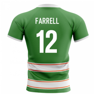 2019-2020 Ireland Home Concept Rugby Shirt (Farrell 12)