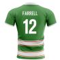 2020-2021 Ireland Home Concept Rugby Shirt (Farrell 12)