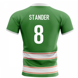 2020-2021 Ireland Home Concept Rugby Shirt (Stander 8)