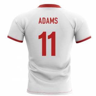 2020-2021 Wales Flag Concept Rugby Shirt (Adams 11)