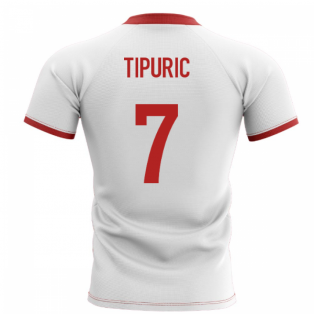 2019-2020 Wales Flag Concept Rugby Shirt (Tipuric 7)