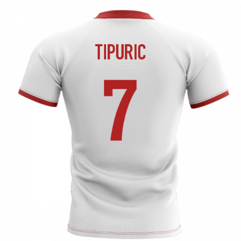2020-2021 Wales Flag Concept Rugby Shirt (Tipuric 7)