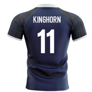 2020-2021 Scotland Home Concept Rugby Shirt (Kinghorn 11)